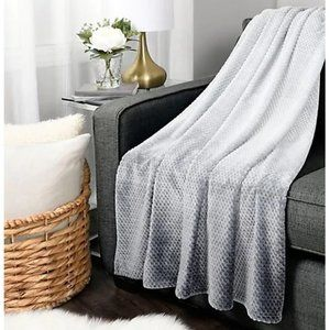Haven Ombre Jacquard Throw